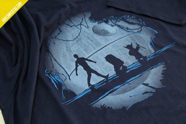 Camiseta star wars hakuna matata