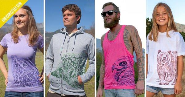 Camisetas somos fauna