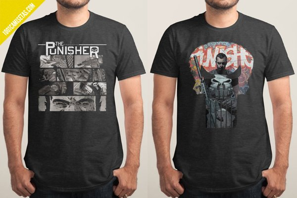 Camisetas punisher threadless