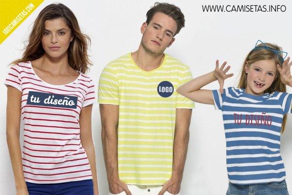 Camisetas rayas camisetas personalizadas