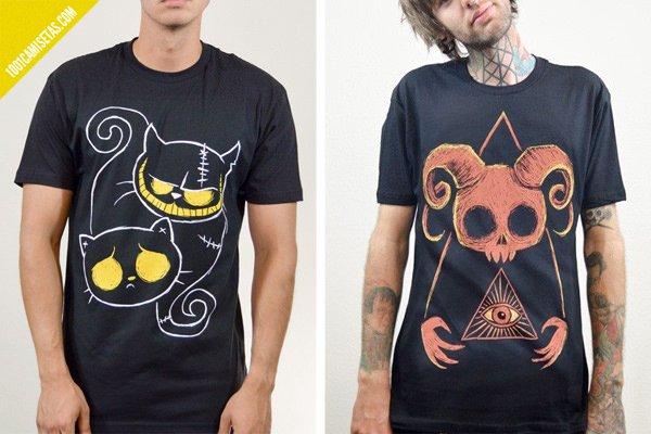Camisetas de akumu