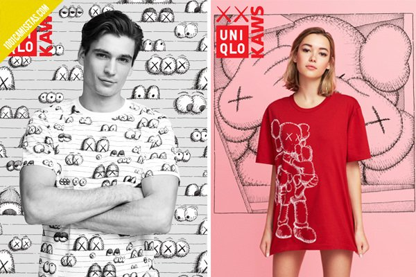 Camisetas kaws uniqlo
