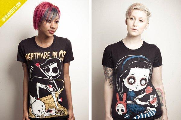 Camisetas oscuras akumu