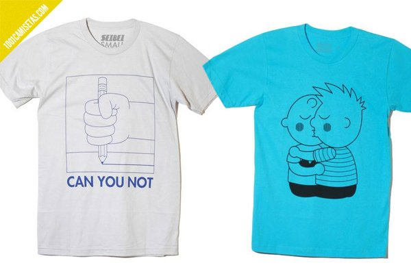 Camisetas divertidas seibei