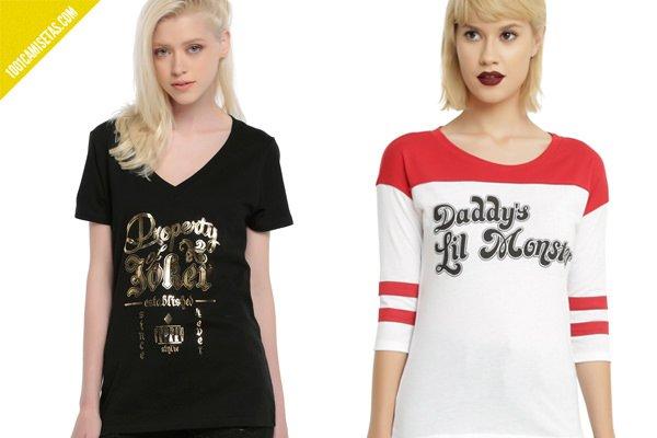 Camisetas Harley Quinn