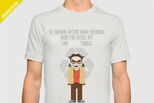 Camiseta leonard hofstadter the big bang theory