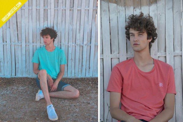 Camisetas bordadas wurf