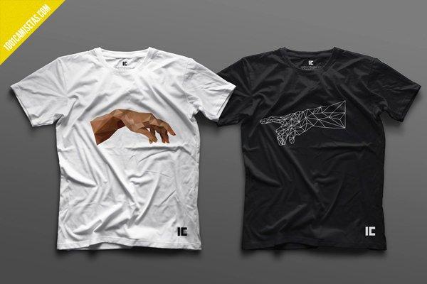Camisetas graficas individually connected