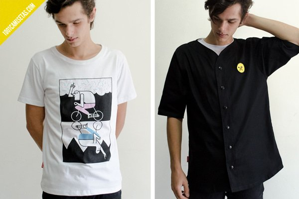 Camisetas graficas paswato