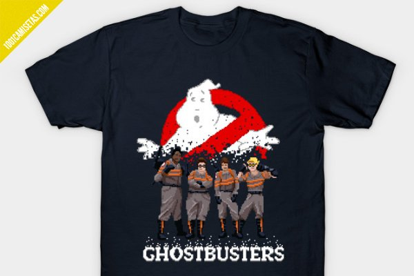 Camisetas las cazafantasmas