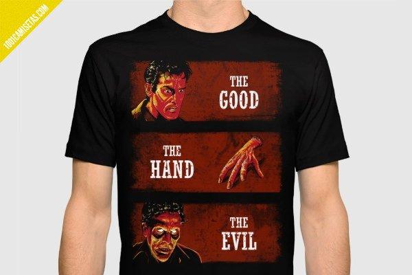 Camiseta ash vs evil dead