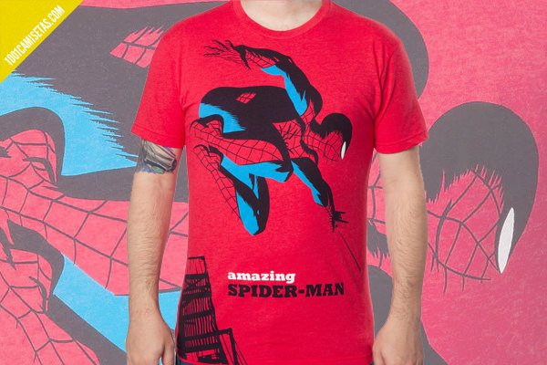 Camiseta spiderman vintage