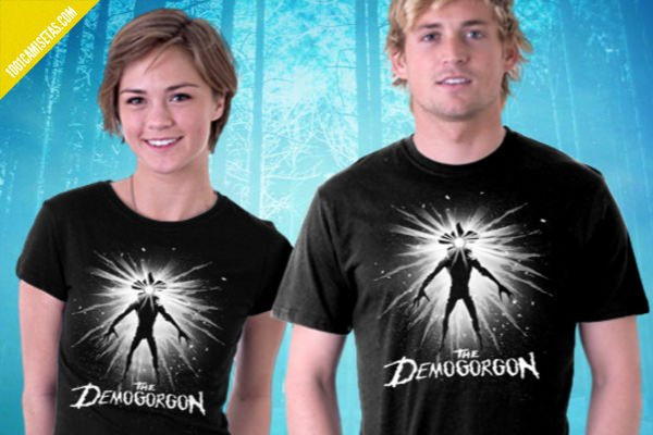 Camisetas halloween demagorgon