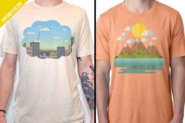 Camisetas retro artisan tees