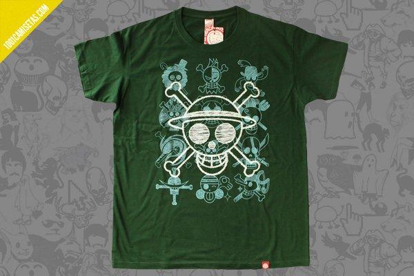 Camiseta one piece sr miyagi