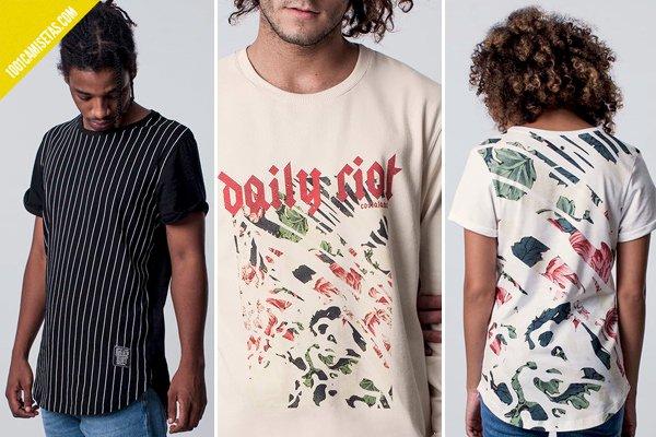 Camisetas costalamel daily riot