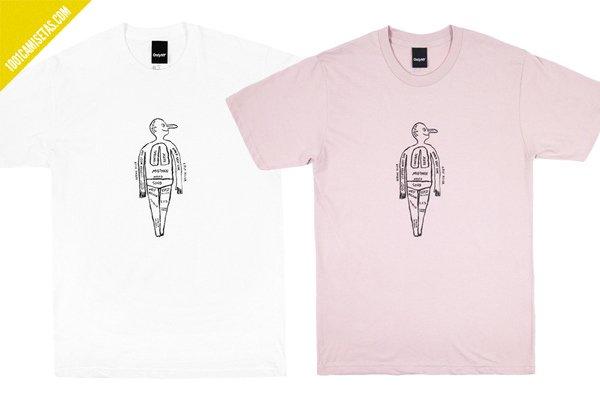 Camisetas diseno jean jullien
