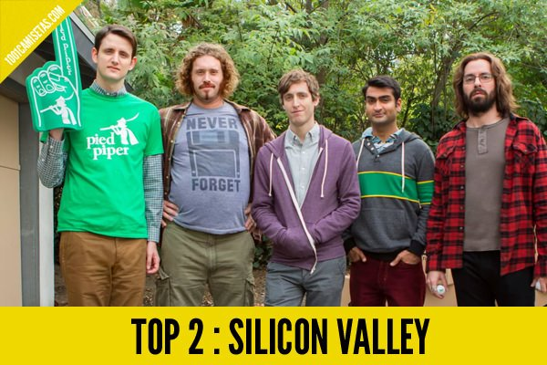 Camisetas silicon valley