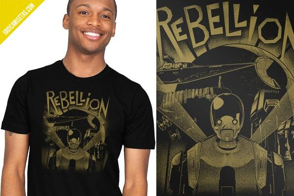 Camisetas rogue one ript apparel