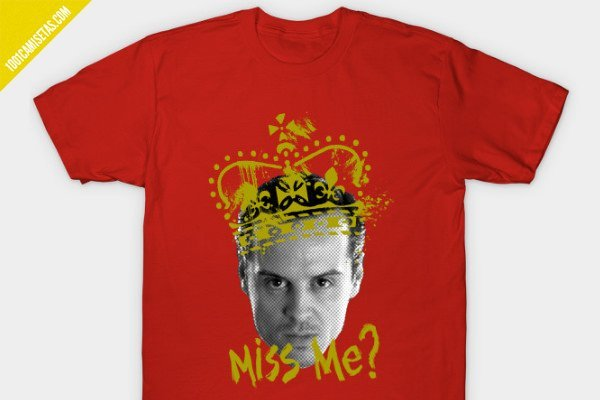 Camiseta moriarty teepublic