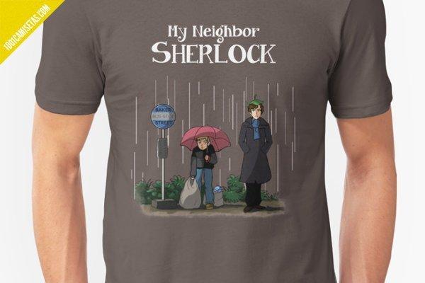 Camiseta sherlock redbubble