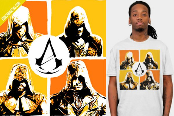 Camisetas assassins creed design by humans