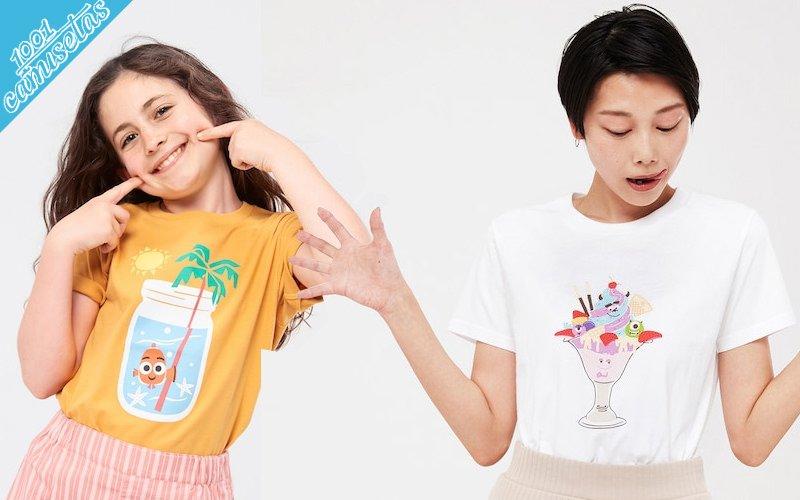 Camisetas pixar vacation