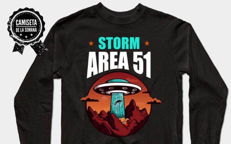camiseta storm area 51
