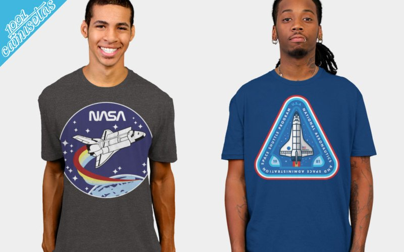 camisetas de la NASA