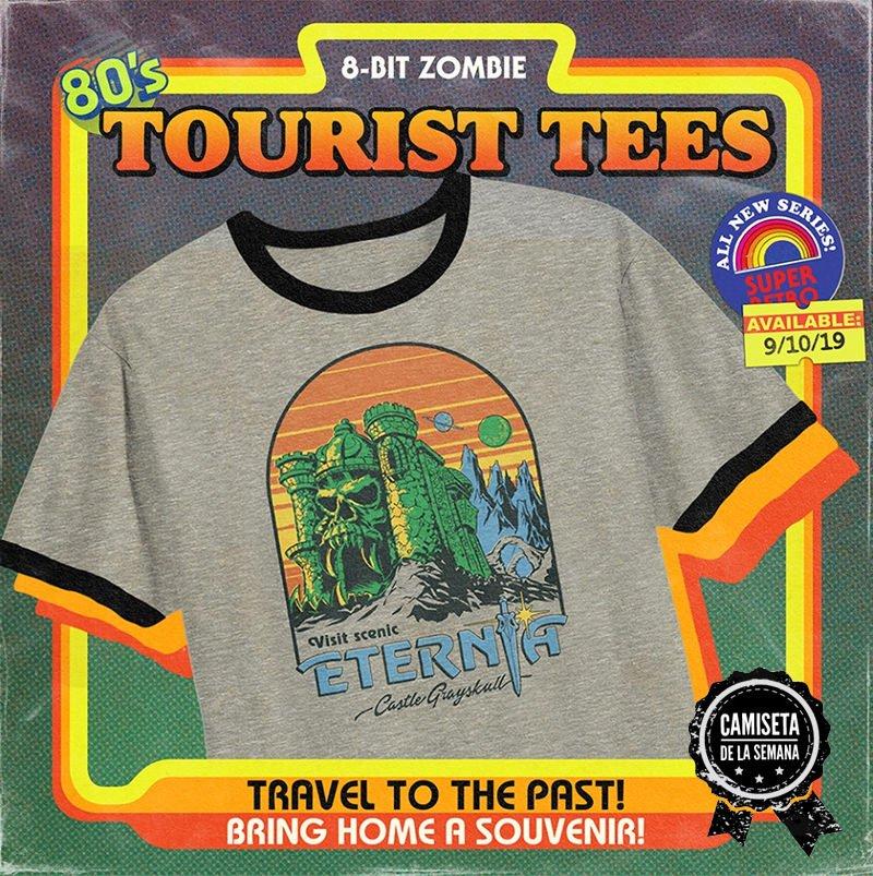 Camiseta eternia