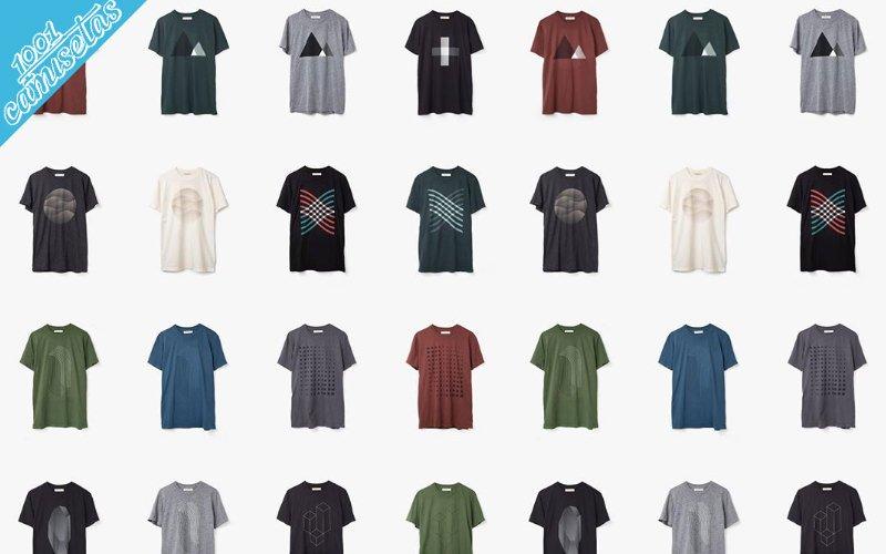 camiseta Woven
