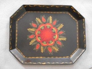 Chili Red Berlin Coffin Tray