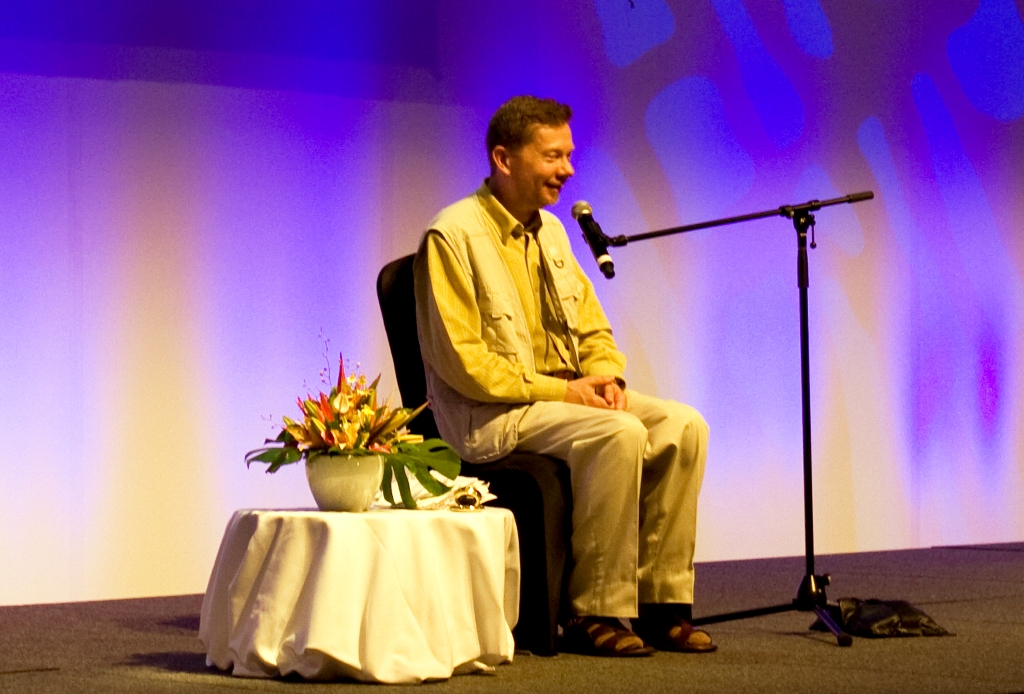 Eckhart Tolle in Coolum