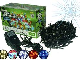 Sznur świetlny 30 m • 300 LED • z Błyskiem • zewnętrzne oświetlenie świąteczne NR 0444
