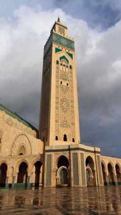 Al Hassan II Mosque, Morocco