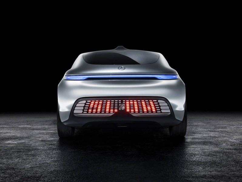 Voiture autonome Mercedes F 015