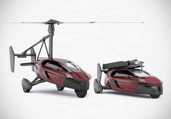 Les voitures volantes ne sont plus qu'une invention du futur mais bien réelles