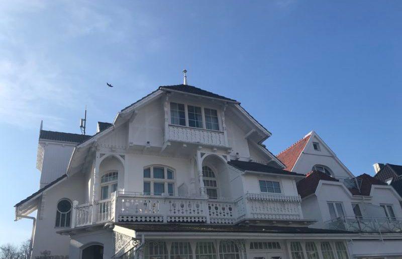 Travemünde & Lübeck -> Ostern an der Ostsee im Schnee in der Villa Wellenrausch