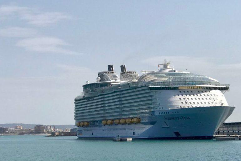Symphony of the Seas Royal Caribbean in Palma de Mallorca Spanien