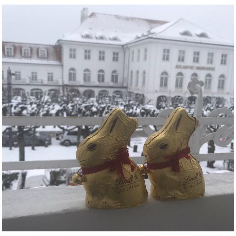 Travemünde Ostern im Schnee Villa Wellenrausch