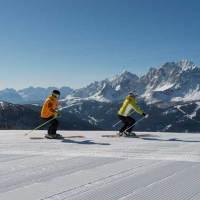 Pulverschnee und Bergidyll im UNESCO Welterbe Dolomiten