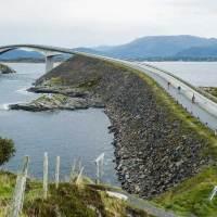 Die neue Atlantikroute für Radurlauber in Norwegen