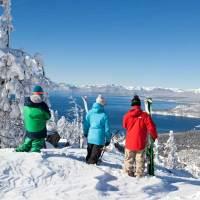 Nevada Ski Winter Wonderland