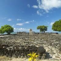 Marae Taputapuatea erste Stätte des UNESCO Weltkulturerbes in Französisch-Polynesien