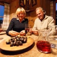 Authentisches Törggelen bei Südtiroler Weinbauern