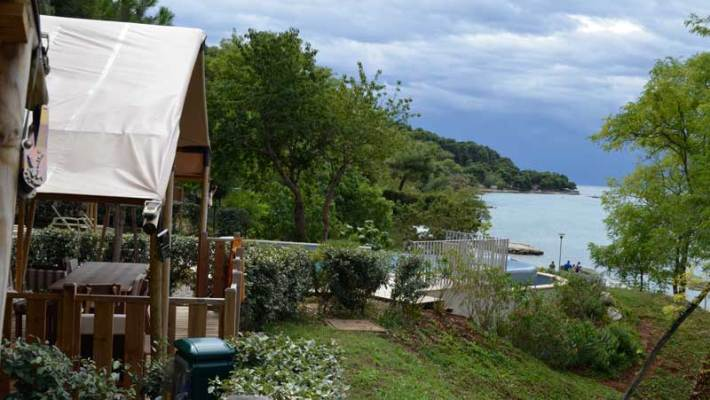 Glamping in Istrien