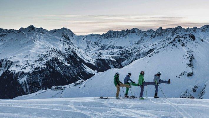 Nah, schneesicher & abwechslungsreich: die Silvretta Montafon