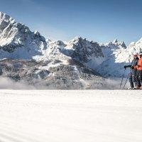 Alpines Skivergnügen in der Dolomitenregion Drei Zinnen