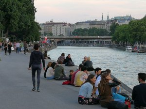 Am Donaukanal Wien ©Detlef Düring
