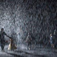 Durch Regen laufen, ohne nass zu werden